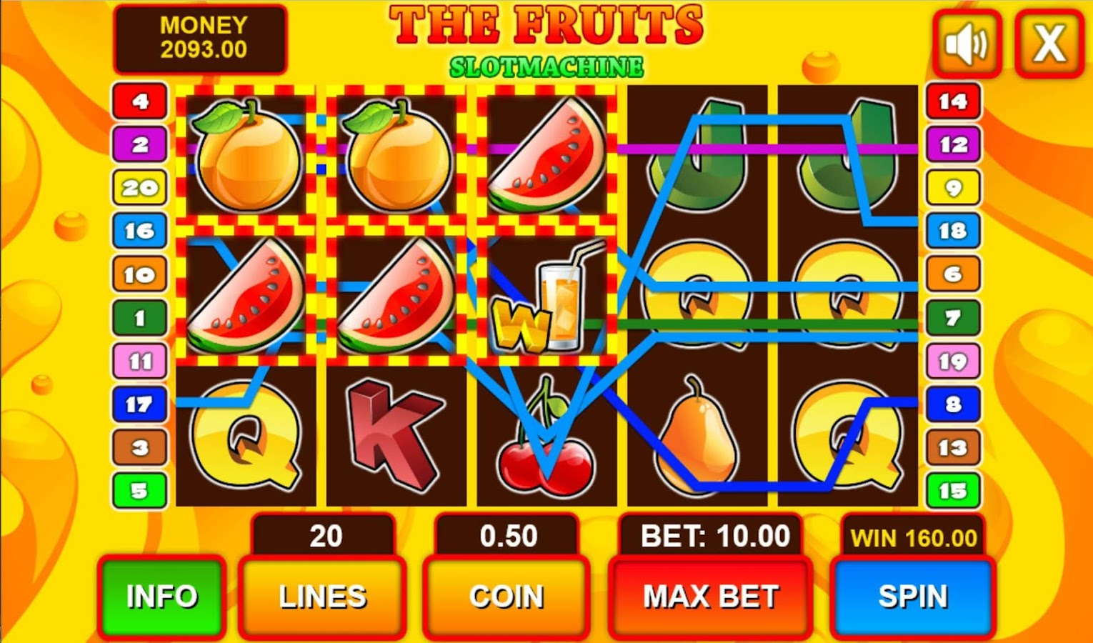 Fruit Slots Mobile- screenshot