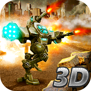 City Battle Mech Wars 3D PvP for PC and MAC