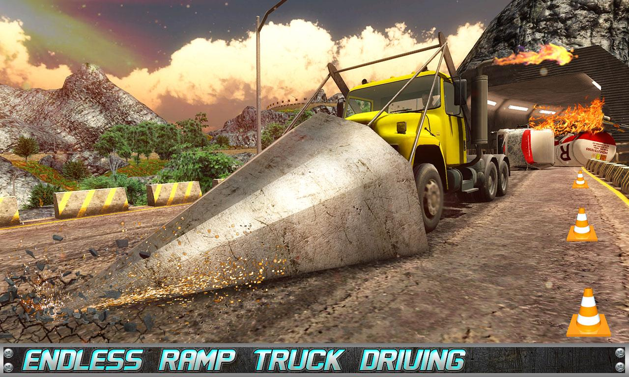 Roadway War Truck Racing offroad- screenshot