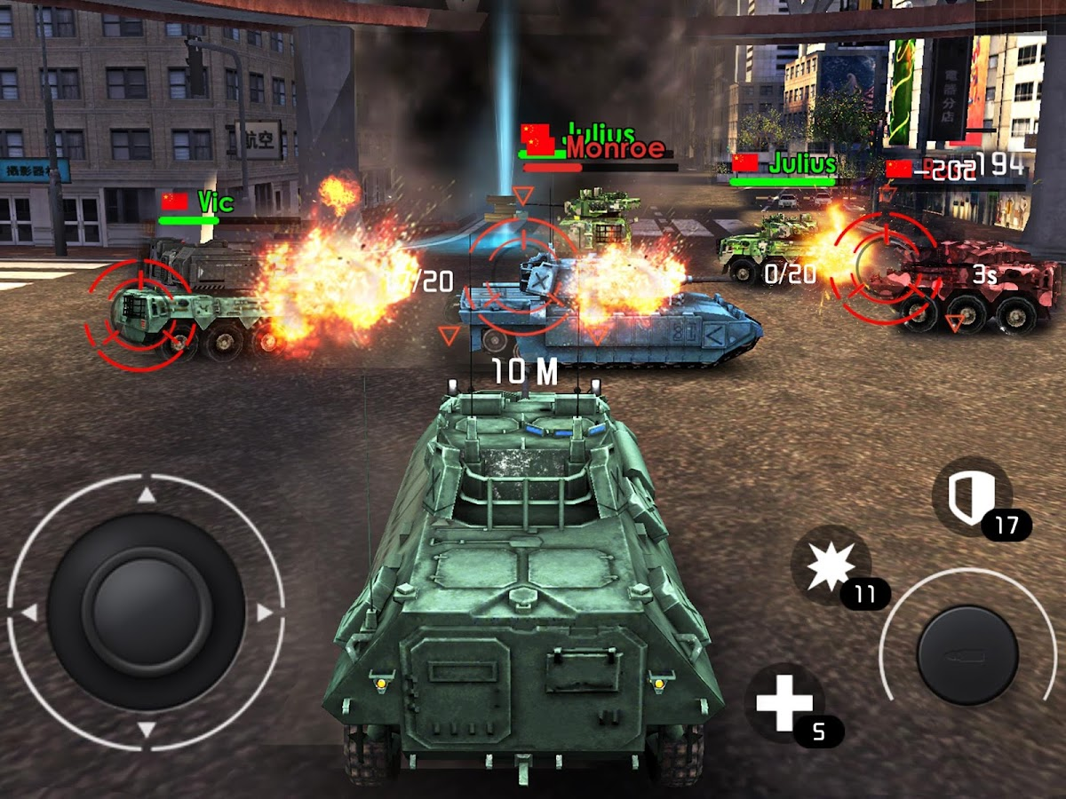 Tank Strike - battle online- screenshot