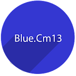 CM 12 /13 Blue theme v20.0