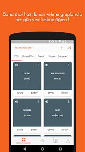 langbox: Kolay ingilizce kelime ezberle - náhled