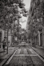 Photo: A Street in Barceolonetta, Barcelona