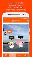 Screenshot of Giddylizer : bubble & stickers