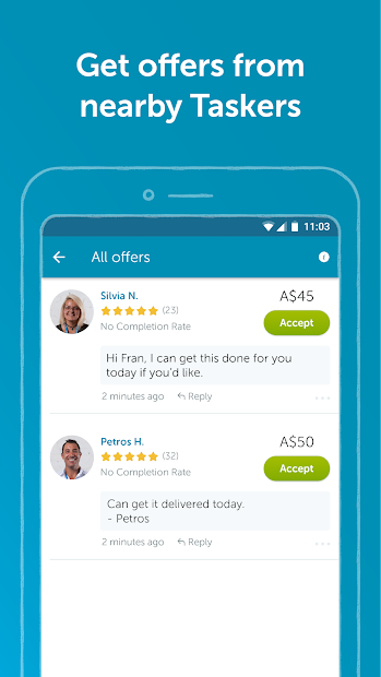 Airtasker - Get handyman, cleaner & home jobs done