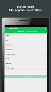ADDA Admin App for RWA members- screenshot thumbnail