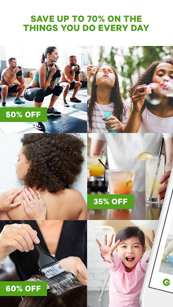 Groupon - Shop Deals, Discounts & Coupons Android App Screenshot