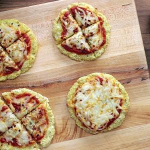 Dairy-Free Cauliflower Crust Pizzas