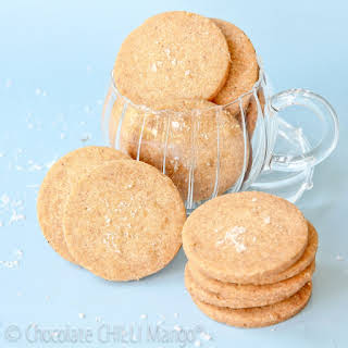 Salted Brown Butter Shortbreads.