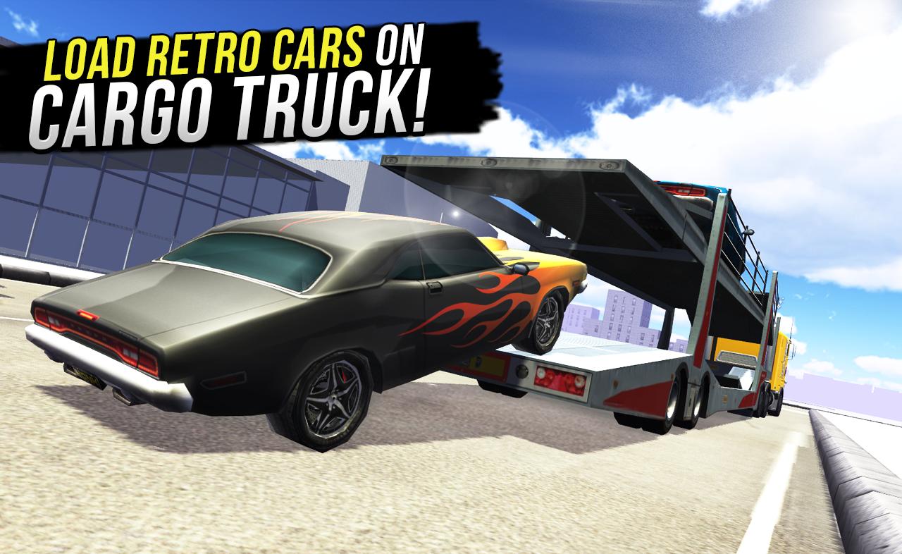 Retro Car Cargo Transport 2017 Screenshot