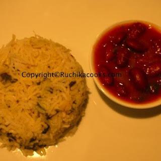 Zucchini Herb Rice