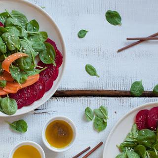 Beautiful Raw Detox Salad.