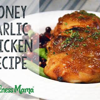 Honey Garlic Chicken Thighs Recipe.