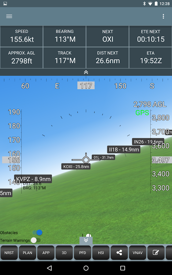 Naviator- screenshot