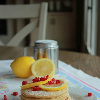 Fresh Lemon Ricotta Pancakes