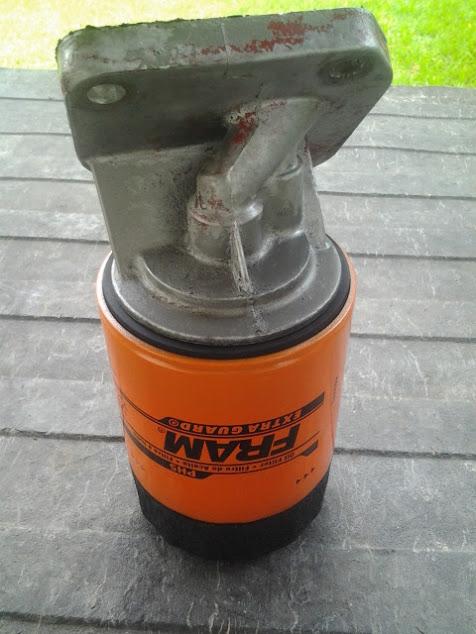 Photo: AMC Rambler 327 Oil Filter Experiment  http://amcramblermarlin.1colony.com/