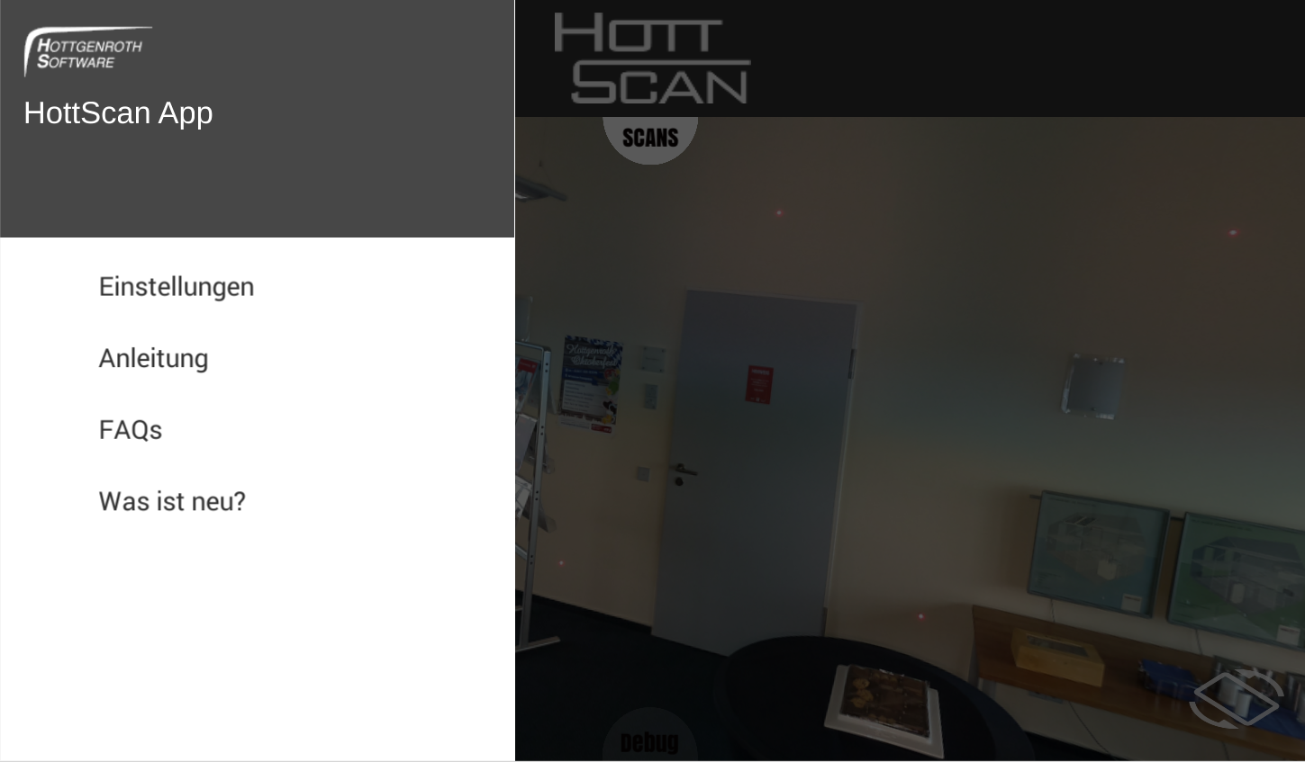 HottScan App- screenshot
