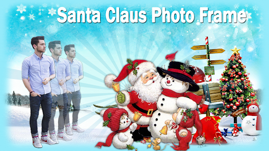 Santa Claus Photo Frame - náhled