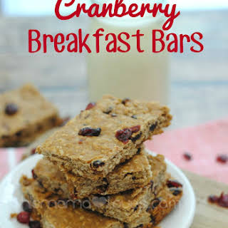 Ocean Spray Craisins Breakfast Bars.