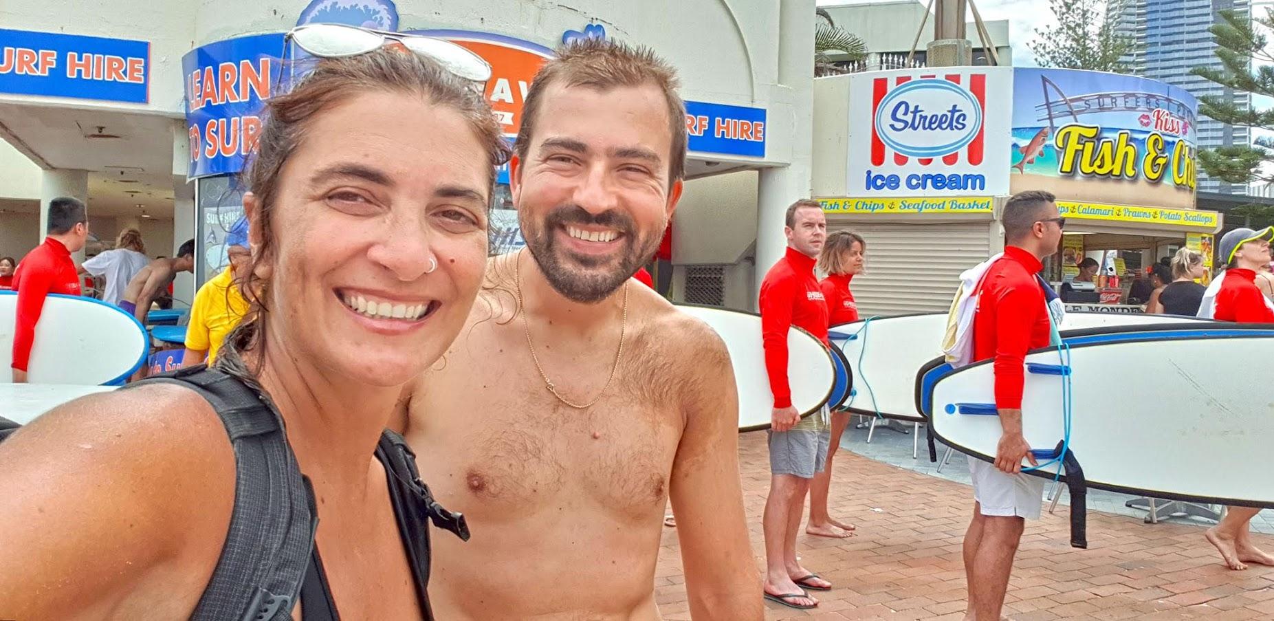 Visitar SURFERS PARADISE e surfar na GOLD COAST (Costa Dourada)| Austrália