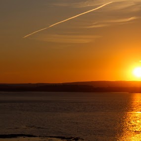 Sunset by Tony Ripacandida - Landscapes Sunsets & Sunrises ( romantic, sunset, night, water, sea,  )