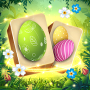 Mahjong Spring Solitaire: Easter Journey