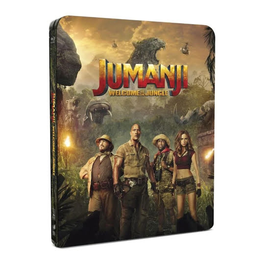 Jumanji: Welcome to the Jungle - Limited Steelbook (Blu-ray)