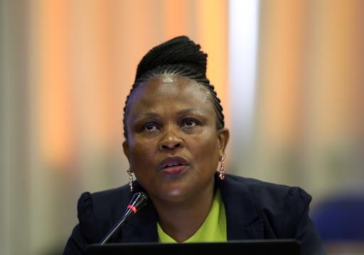 Mkhwebane's court bid puts Ramaphosa at risk