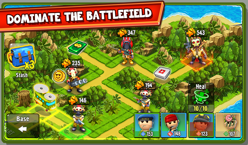 The Troopers: minions in arms- screenshot