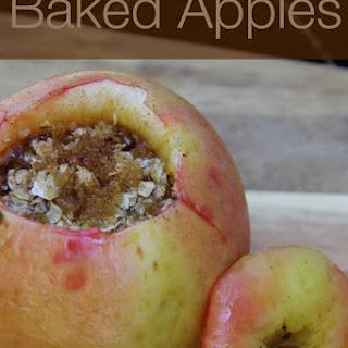 Easy Baked Apples.