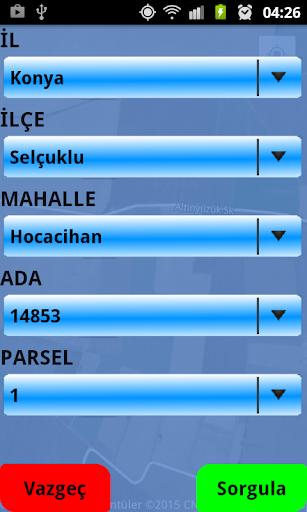 Pasor Parsel Sorgu Programı screenshot