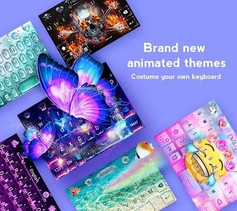 GO Keyboard - Cute Emojis, Themes and GIFs 3.52 (Prime)