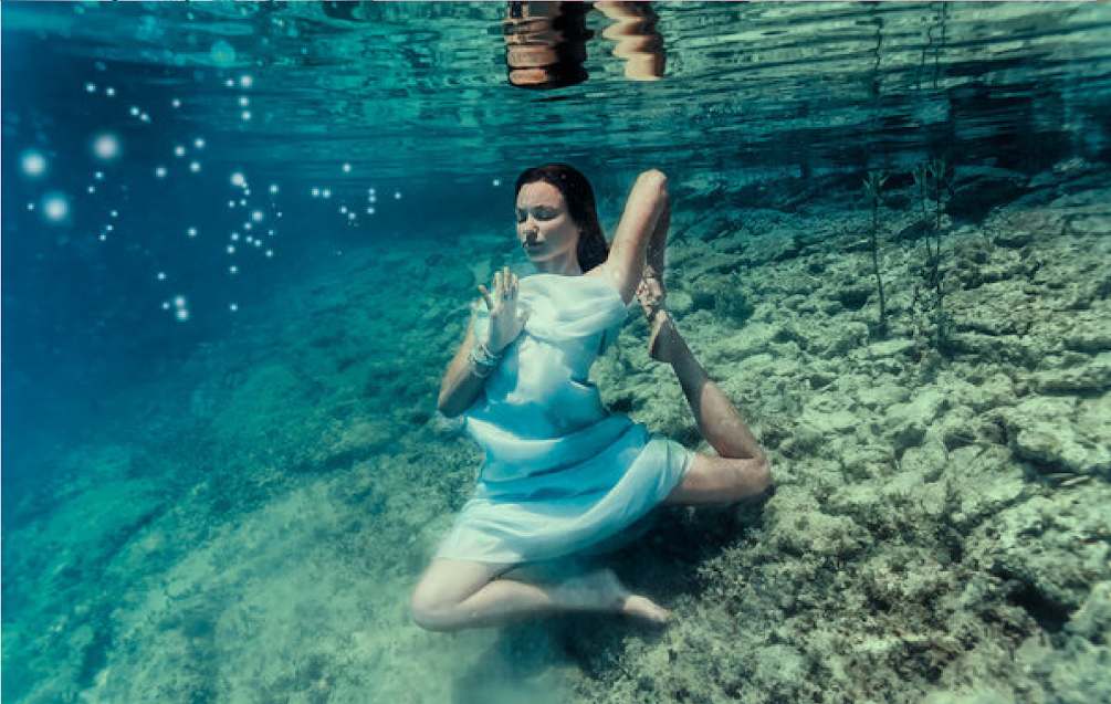 These Yoga Mermaids Prove That Underwater Yoga Is Truly Enchanting