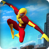 Super Spider Hero Survival: Mutant Monster War