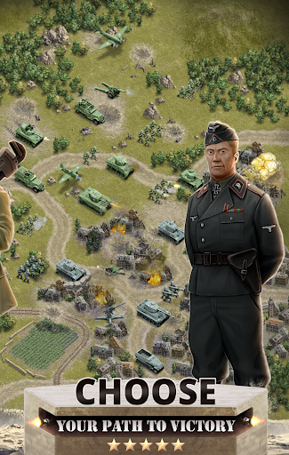1944 Burning Bridges - a WW2 Strategy War Game 1.5.1 screenshots 5