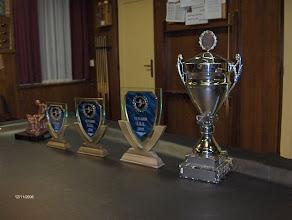 Photo: De prijzen voor de algemeen kampioenen