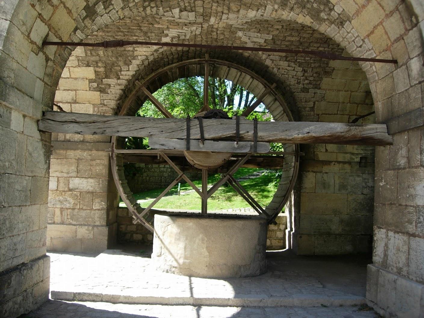 Puits à la citadelle de Besançon