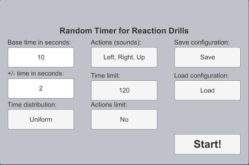 Random Timer Reaction Drills