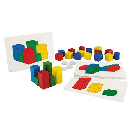 3-D kuber - 7763-455-3