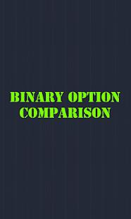 Binary option comparison