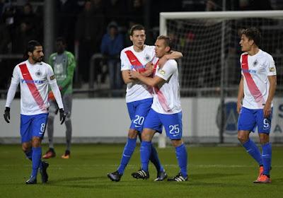 Bruges en Espagne, face à des équipes allemandes durant son stage hivernal