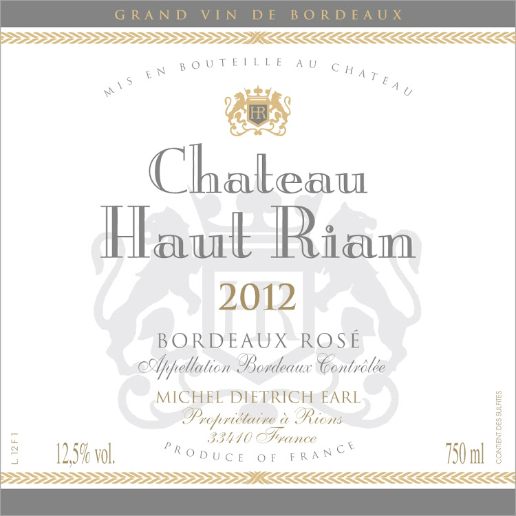 Logo for Chateau Haut-Rian Bordeaux Rose
