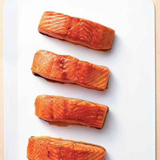 Maple Glazed Salmon.