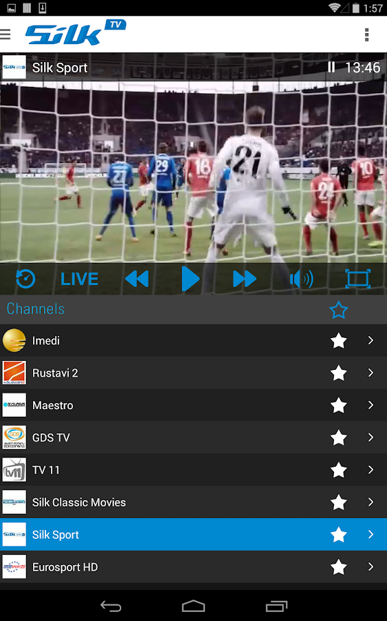 Silk TV Go- screenshot