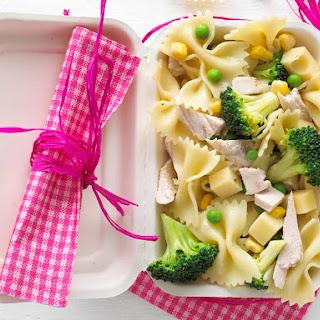 Bowtie Pasta Salad with Chicken.