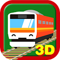Touch Train 3D for Families icon