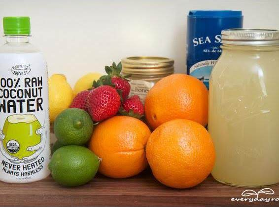 This Recipe And Picture Are From: Http://everydayroots.com/homemade-energy-drink