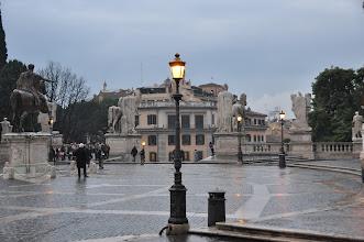 Photo: Kapitolské náměstí ve čtvrteční podvečer 10. ledna 2013.