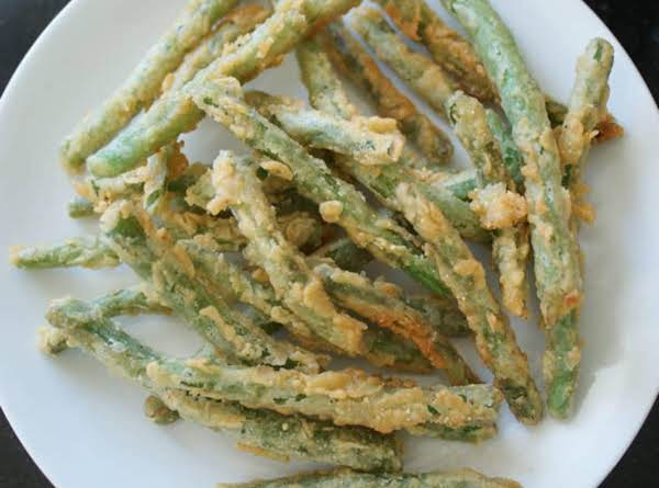 Frannie's  Fried Green Beans Recipe