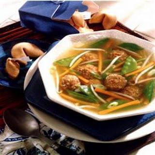 Shanghai Meatball Soup